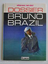 BRUNO BRAZIL: Dossier BD French Comic Book William Vance, Louis Albert 1977