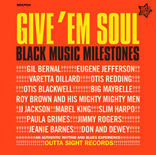 "GIVE EM SOUL 1  ""14 STUNNING TRACKS FROM THE R&B MASTERS""  EVERYONE A WINNER!"