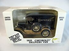 ERTL 1923 Chevrolet Hersheys Chocolate Delivery Van Replica Coin Bank Die cast