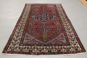 Antik handgeknüpfter Alte Perser Teppich 202 x 128 cm