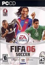 FIFA Soccer 06 PC BRAND NEW IN BOX FACTORY SEALED NIB MINT FAST FREE SHIPPING