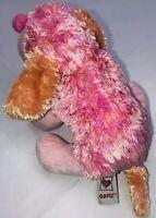 """Webkinz Plush Stuffed Animal Pink Punch Cheeky 9"""" Dog HM495"""