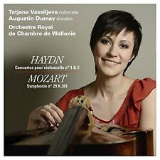 Tatjana Vassiljeva - Haydn Cello Concertos 1 and 2 Mozart Symphony No29 [CD]