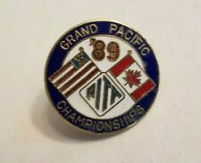 Pita Grand Pacific Championships Lapel-Hat pin / 1989 / Trap & Skeet Shooting