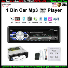 Single 1 Din Car DVD CD MP3 Player Audio FM Stereo In-dash USB/AUX/SD Radio BT