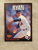 1993 Donruss Triple Play #96 Nolan Ryan Texas Rangers MINT Free Shipping