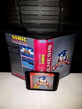 Sonic The Hedgehog - 30 Day Challenge Game for Sega Genesis! Cart & Box!