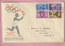 G.B FDC, First day cover, Olympic Games 1948, Wembley