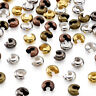 500pcs Iron Crimp Beads Covers Round Crimp Cover Clamp Tips Knot Cover Metal 5mm