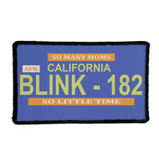 BLINK 182 Rock Band Iron On or Sew On Patch UK SELLER Patches