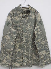 US-Military-COMBAT COAT ACU-Digital-Camo-50-50-Ripstop-Army-USGI-NWOT Med Long