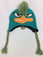 Perry the Platypus Agent P Phineas and Ferb Adult Knit Beanie Winter Hat FREE SH