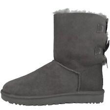 UGG Bailey Bow II Boots Damen Stiefel Australia Boots gefüttert 1016225-GREY