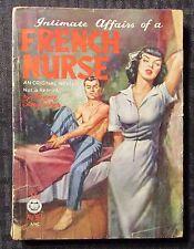 1953 FRENCH NURSE by Florence Stonebracker G/VG 3.0 Croydon #30 Paperback