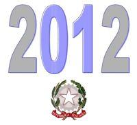 ITALIA Repubblica 2012 Singolo Annata Completa integri MNH ** Tutte le emissioni
