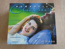 Romantic Classics 4 CD Box Set (Disky) 1996