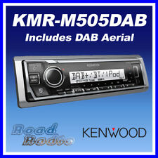 Kenwood KMR-M505DAB Mechless Marine Digital Media Receiver with DAB Aerial