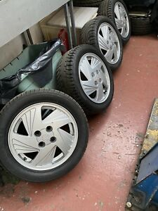 "Vauxhall Astra MK3 Gsi Fanblade alloy wheels stepdown 15"" C20XE Redtop"