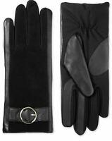 Isotoner Signature Women's SleekHeat Leather Touchscreen Gloves Size L/XL