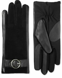 Isotoner Signature Women's SleekHeat Leather Touchscreen Gloves Size L/XL