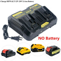 For DEWALT DCB207-2 20V 20 Volt Li-Ion Battery Packs DCB107 Charger New 2019