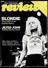 BLONDIE New Manchester Magazine Cover Sticker NEW OFFICIAL RARE Debbie Harry