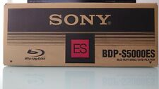 Sony BDP-S5000ES Black High-End CD/DVD/Blu-Ray Player *MINT CONDITION*
