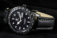 Automatic Men's Watch Solid Stainless Steel black-gehäuse NEW SERIES WITH TAG/