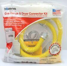 "Dormont Safety-Shield Gas Appliance 48"" Connector Kit 0240892 Range & Dryer New"