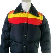 New ListingVintage Camel Goosedown Winter Coat Jacket Vest Removable Sleeves Black Large