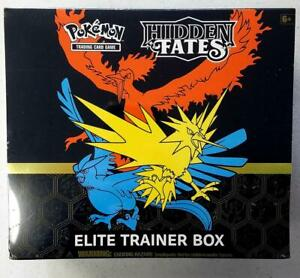 HIDDEN FATES ELITE TRAINER BOX POKEMON TCG ~~ETB FACTORY SEALED NIB~~