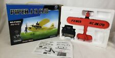 RC plane piper rtf ready to fly airplane glider j3 CUB planes remote control NEW