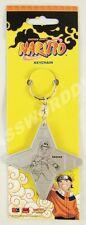 Naruto Shuriken Shape Sasuke Keychain Key Chain Ge Animation 3549 New