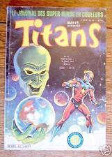 TITANS n° 31 - bimestriel - mars 1981