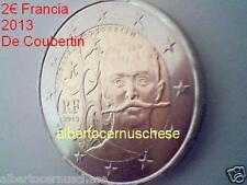 2 euro 2013 fdc Francia France Frankreich França Pierre COUBERTIN Франция