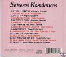 rare cd SALSA Paquito Guzman Nino Segarra 25 ROSAS porque te amo ERES LA UNICA
