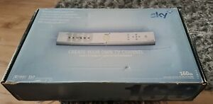 Sky plus SD box 160Gb boxed with remote and instructions.Free Sat Digi