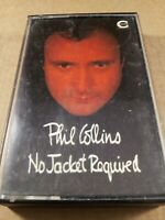 Phil Collins : No Jacket Required : Vintage Tape Cassette Album From 1989