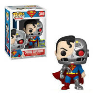 CYBORG SUPERMAN SDCC 2020 CONVENTION EXCLUSIVE FUNKO POP DC COMICS 364 IN HAND