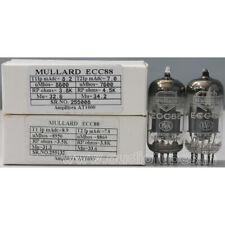 1MP ECC88 6DJ8 CV5358 MULLARD MADE IN GT. BRITIAN #255008&132