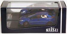 Mark43 1/43 Honda Civic Type R Fk2 Sporty Blue Metallic Resin Replica 4348bl