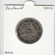 Ierland 2 euro 2012 UNC : 10 Jaar Euro munt