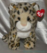 """NEW 2007 TY CLASSIC BEANIE Plush 11"""" CLEOPATRA The LEOPARD Kitty Cat Golden Eyes"""
