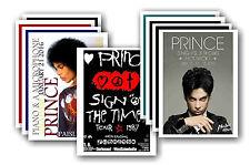 PRINCE - 10 promotionnel affiches - de collection lot carte postale # 1
