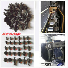 150Pcs Push Pin Mixed Door Trim Panel Clip Retainer Fastener Bumper Rivet Kits