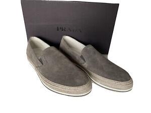 NIB PRADA Men's Sand Loafers 9 US (Prada 8) 4D3224