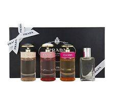 PRADA miniature collection 4 pc SET candy, florale, leau, les infusions 7ml NIB