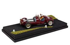 MG Models 1/43 1948 Ferrari 166 SC #1049 Mille Miglia Nuvolari Scapinelli Dioram