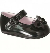 Baby Deer Black Patent Shoes with Bow Baby Size 2