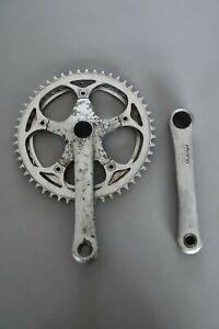 pédalier vélo italien vintage OFMEGA denture 51/44